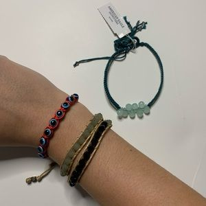 Bracelet and Anklet Bundle